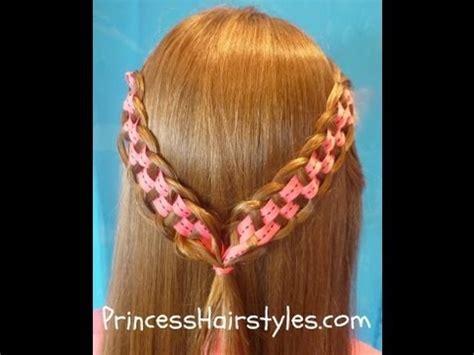 checkerboard braid princess hairstyles youtube