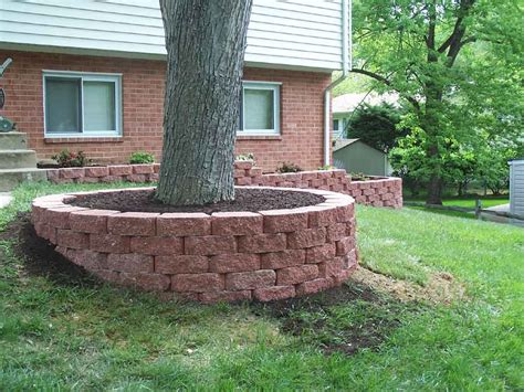 landscape bricks landscaping around trees professional stone work silver spring md phone 240 644 4706 we