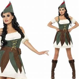 Robin Hood Kostüm Selber Machen : damen fever sexy ganovin kost m mittelalterlich robin hood verkleidung ~ Frokenaadalensverden.com Haus und Dekorationen