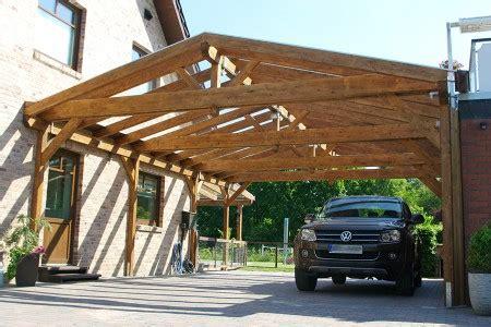 Carport Mit Satteldach Freistehend Aus Holz Online Bestellen