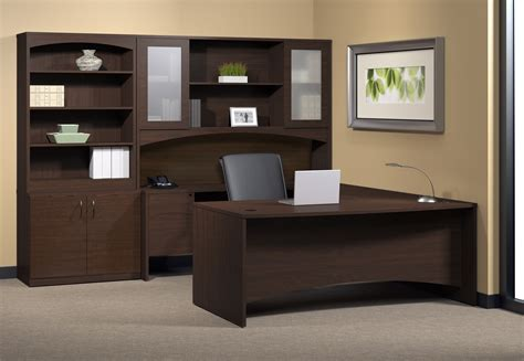 storage desk with hutch mayline furniture bt7 brighton u desk with hutch and