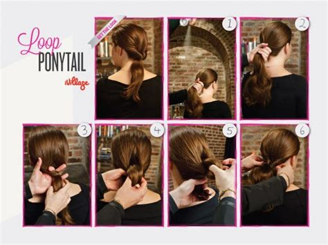 quick and easy hairstyles for school step by step