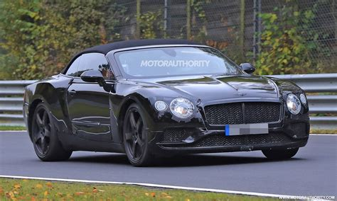 2018 Bentley Continental Gt Convertible Spy Shots