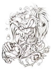 New School Tattoo Design Drawings