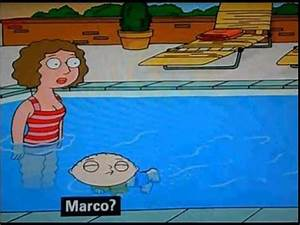 Family Guy- Stewie's Marco Polo Game- (in English) - YouTube