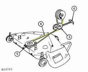 Jd 212 Need Help With Mower Deck Drive Belt