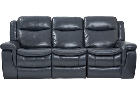 blue leather reclining sofa milano blue leather reclining sofa reclining sofas blue