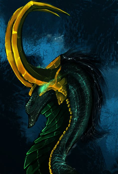 Marvel Dragons 1 Lokispeedpaint By Dark Spine Dragon