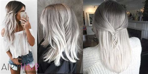 9 Beautiful White Ombre Hair Extensions Ideas For 2018