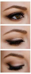Maquillage Soirée Yeux Marrons : exemple maquillage yeux marrons ~ Melissatoandfro.com Idées de Décoration
