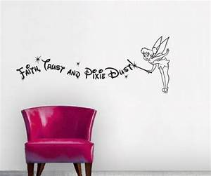 Wall decal good look faith trust and pixie dust wall for Good look faith trust and pixie dust wall decal