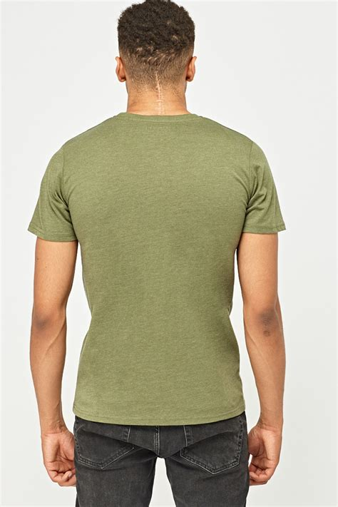Graphic Mens Print T-Shirt - Just $3