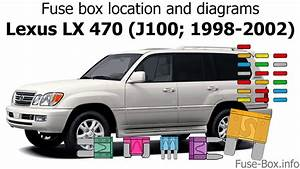 Fuse Box Location And Diagrams  Lexus Lx470  J100  1998