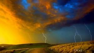 Lightning, Storm, Rain, Clouds, Sky, Nature, Thunderstorm