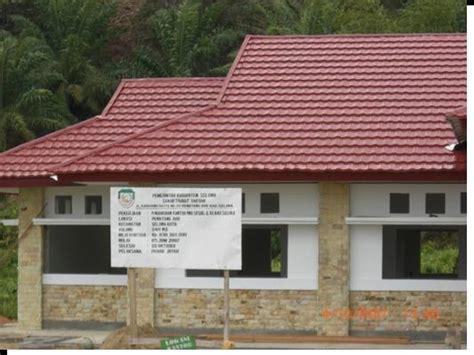 bahan bangunan jambi proyek  menggunakan spyro roof