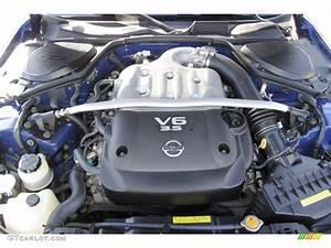 2006 Nissan 350z Enthusiast Coupe Engine Photos