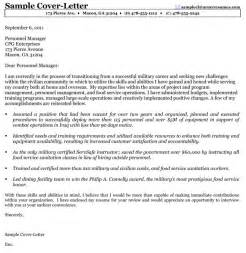 Federal Resume Cover Letter Sample