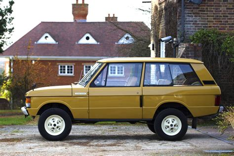 original land rover the original range rover is the root of the global cult of