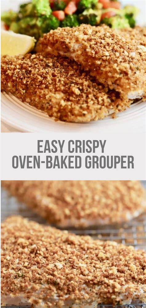 grouper baked recipes oven fillets easy recipe crispy fish meatfoods fikirevreni quick