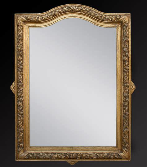 miroir doré ancien miroir ancien napol 233 on 3 bois dor 233
