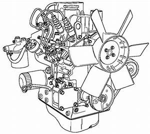 4 Cylinder Perkins Diesel Engine Diagram