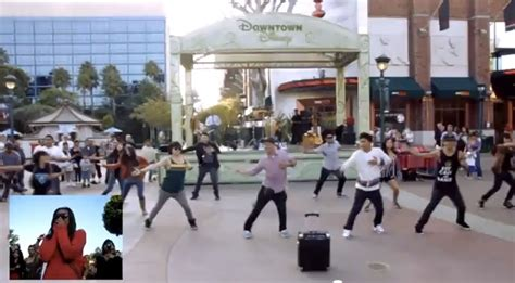 Downtown Disney Dance Flash Mob Marriage Proposal Viral