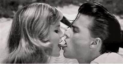 Kiss French Johnny Depp Kissing Tongue Tongues
