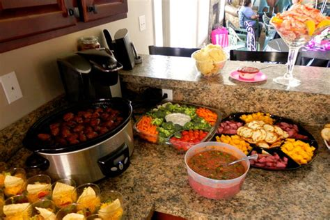 food ideas for bridal shower an adorable bridal shower on a budget bridalguide