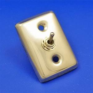 606  Toggle Switch On Back Plate - Sundry - Switch - Electrical