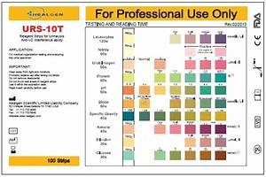 10 Parameters Urine Reagent Strips