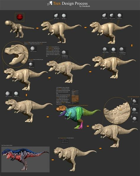 Coloring Zbrush by 69 Best 3d Creature Images On Creature Design
