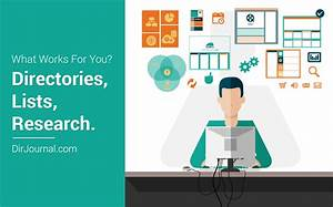 What Works For You? (Directories, Lists, Research ...