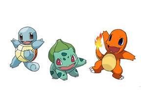 Pokemon Starters Fan Art