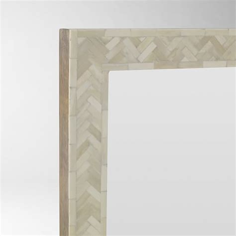 floor mirror bone inlay parsons floor mirror bone inlay west elm