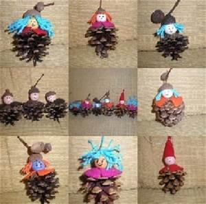 Que Faire Avec Des Pommes De Pin Pour Noel : fabriquer des animaux bonhommes en pomme de pin ~ Voncanada.com Idées de Décoration