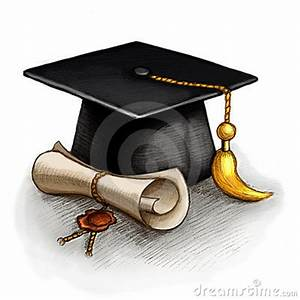 Graduation Cap And Diploma Stock Photography - Image: 18747492