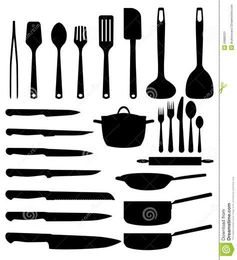 pro en cuisine ustensile de cuisine image stock image 29886331