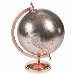 Glace Maison Du Monde : globe terrestre h 29 cm copper glace maisons du monde ~ Teatrodelosmanantiales.com Idées de Décoration