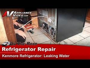 how to unclog a refrigerator drain line funnycattv With refrigerator leaking water on floor