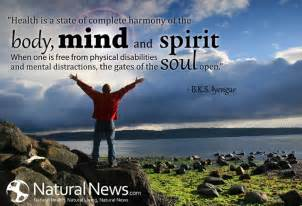 health is a state of complete harmony of the mind and spirit naturalnews
