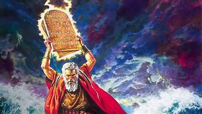 Commandments Ten Wallpapers 1956 Background Moses Fanart