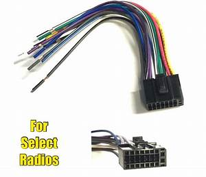 Car Stereo Radio Replacement Wire Harness Plug For Select
