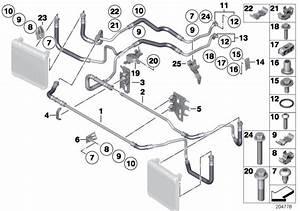 Bmw 750li Clip  Cooling  System  Hoses
