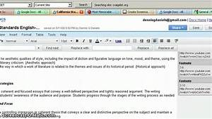 Google docs footnote formatting and pdf youtube for Google documents footnotes