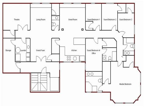 blueprint for houses create simple floor plan draw your own floor plan easy