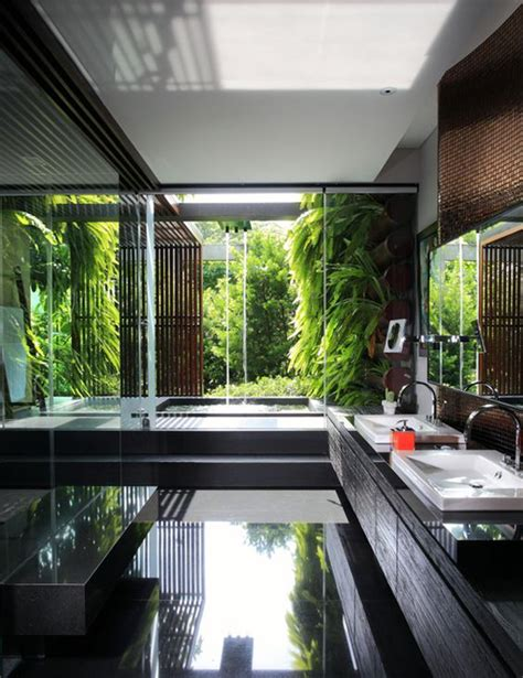 nature interior design 25 tropical nature bathrooms to get inspired home design and interior