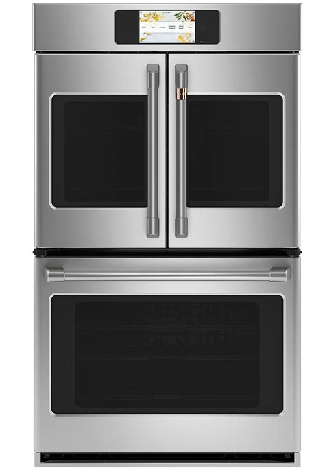 cafe ctdfpns   built  professional french door double wall oven  convection