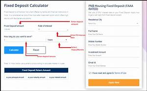 Interest Rates On Credit Cards Calculator Hdfc Fd Calculator Hdfc Bank Fd Interest Calculator 2020
