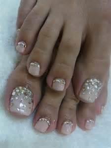 Nails toes need bling also rhinestone bridal nail g