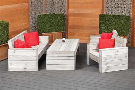 rustic garden lounge set furniture set